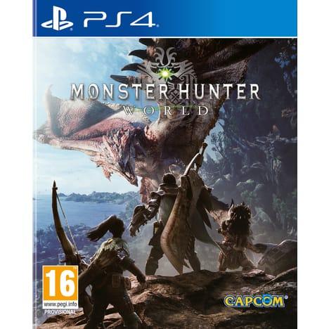 Monster Hunter World sur PS4 (via 24.49€ sur la carte)