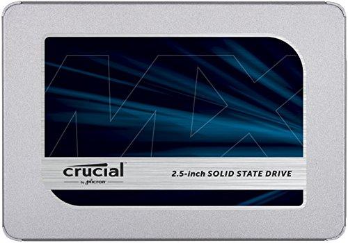 "SSD interne 2.5"" Crucial MX500 (CT250MX500SSD1) - 250 Go"