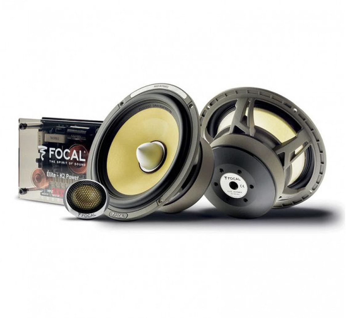 Paires d'enceintes pour voiture Focal ES 165 KX2 + Tweeters + Filtres