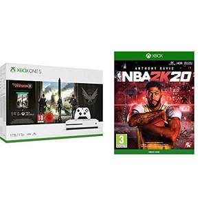 Pack de Console Xbox One S - 1 To + Tom Clancy's The Division 2 + NBA 2K20
