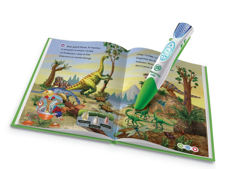 Lecteur Leap Tag de Leap Frog + Livre D'Activités (vert)