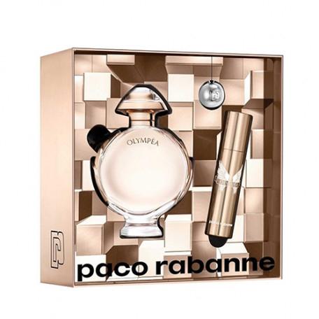 Coffret Olympéa Paco Rabanne: Eau de Parfum 50Ml + Vaporisateur de Sac