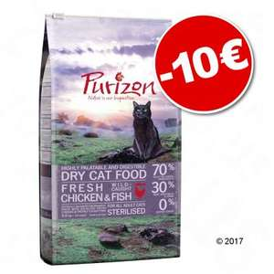 Croquettes pour chat sans céréales Purizon