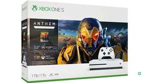 Console Xbox One S 1 To Blanc + Anthem Legion of Dawn Edition (Frontaliers suisse)