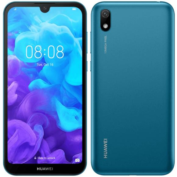 """Smartphone 5.71"""" Huawei Y5 2019 - 2 Go RAM, 16 Go (Via ODR de 30€)"""