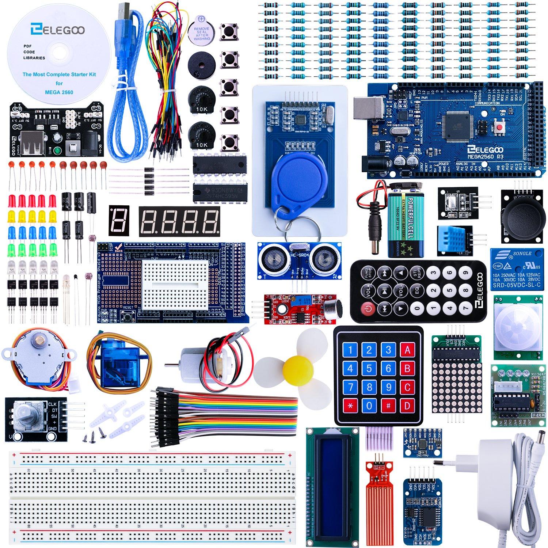Kit de démarrage Arduino Elegoo Mega 2560 R3 (Vendeur Tiers)