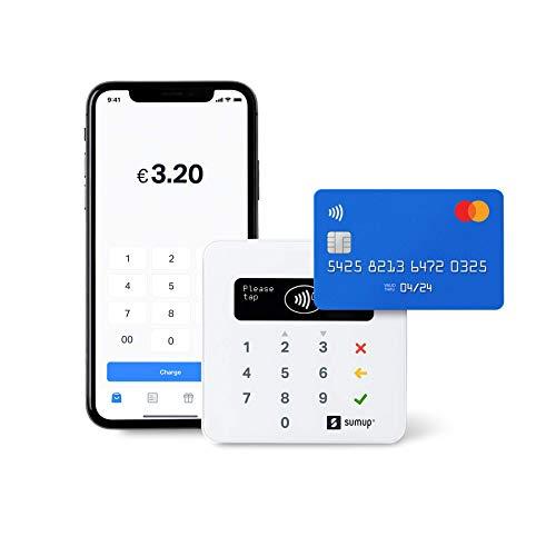 Terminal de paiement SumUp Air - Compatible NFC, Apple Pay, Google Pay (Vendeurs Tiers)