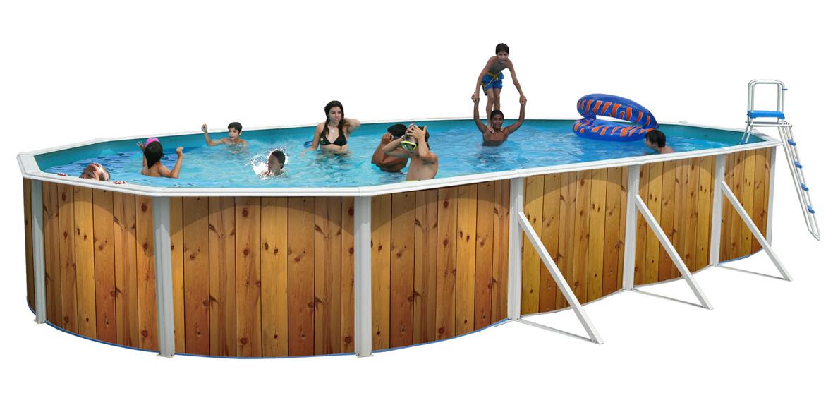 Piscine veta ovalada 730 x 366 cm X 1.20 m + Kit d'été (promo-piscine.fr)