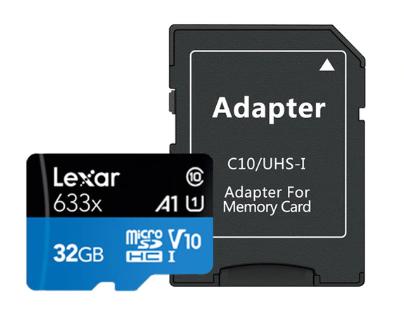 Carte Micro SD Lexar Class10 UHS-I U1 - 32Go