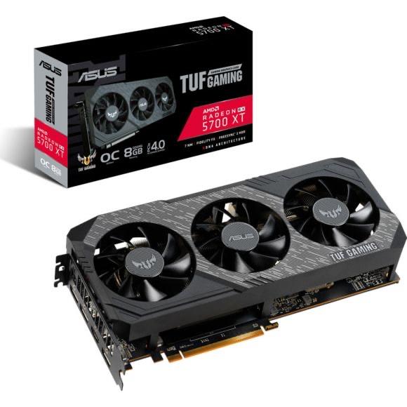 Carte graphique Asus Radeon RX 5700 XT TUF Gaming OC - 8 Go (via ODR de 45€)