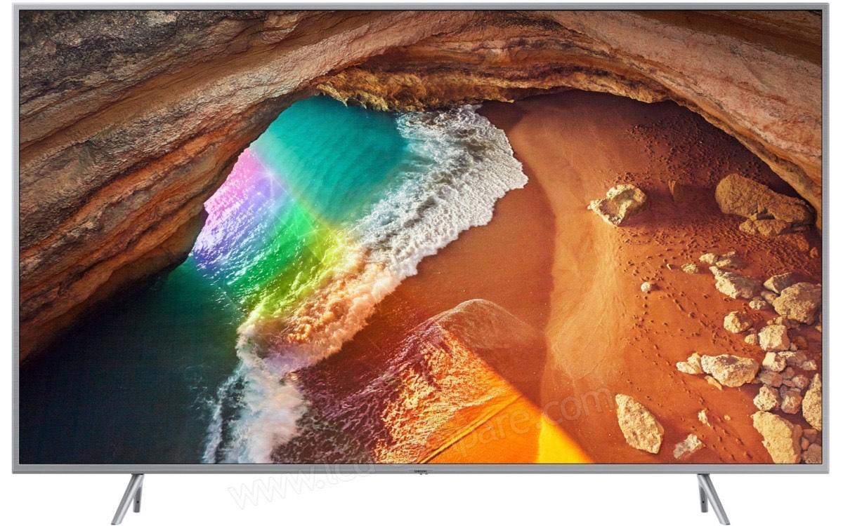 """TV 65"""" Samsung QE65Q67R (2019) - QLED, 4K UHD, HDR 10+, 100 Hz, 3100 PQI, Smart TV (Via ODR de 200€)"""