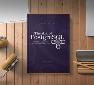 Livre The Art of PostgreSQL - version numérique ou papier
