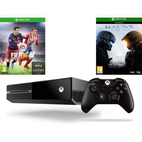 Console Xbox One 500Go Fifa 2016 + Halo 5