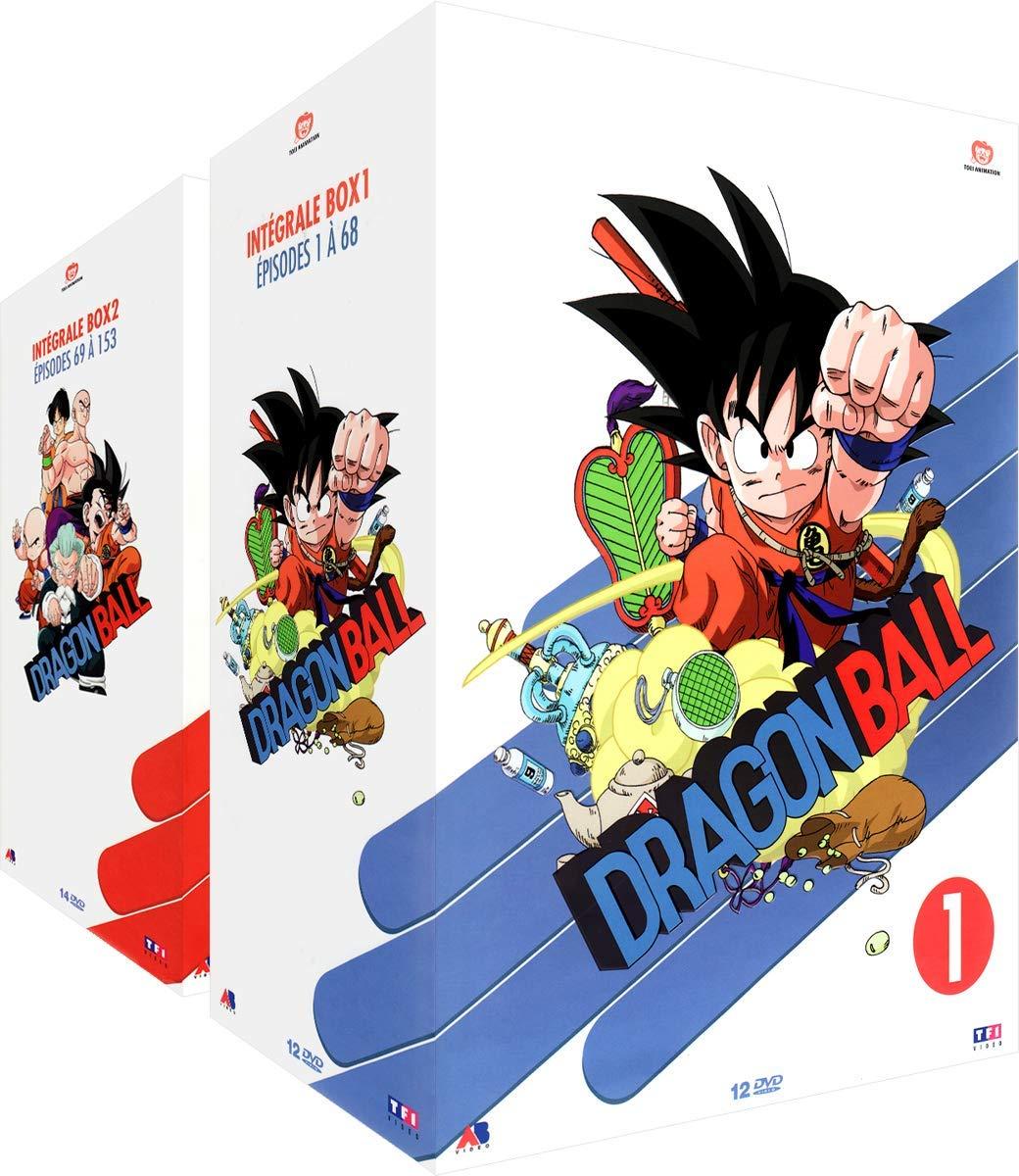 Pack de 2 coffrets DVD Dragon Ball - L'Intégrale Collector (26 DVDs, non-censuré)