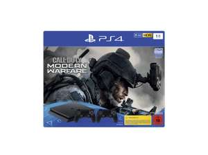 Pack Console Sony PS4 1To Jet Black + 2 Manettes + Call of Duty: Modern Warfare (Frontaliers Allemagne)