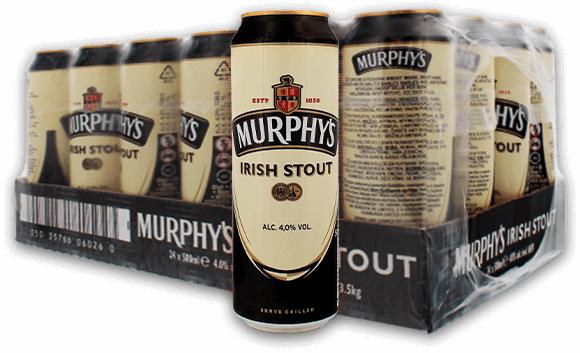 Box de 24 Bières Murphy's Irish Stout - 24 x 50 cl