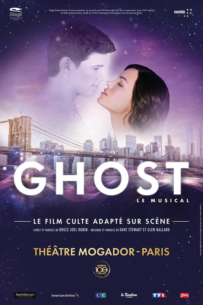 Place pour Ghost, Le Musical - Catégorie 2 et 3 à 30 euros