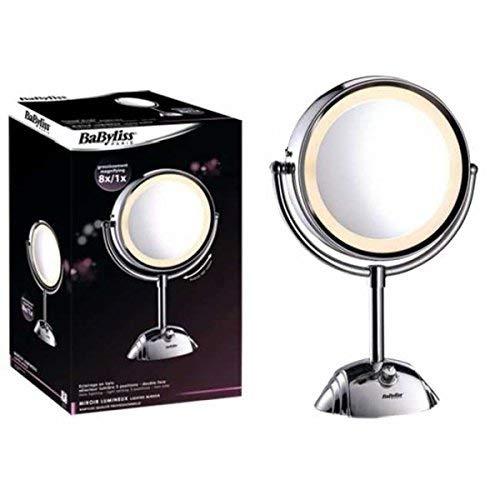 Miroir lumineux grossissant x8 BaByliss Paris