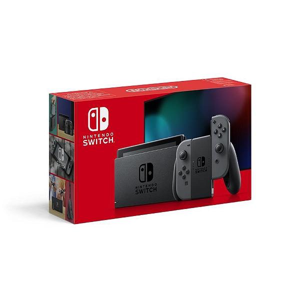 Console Nintendo Switch 2019 avec paire de Joy-Con Néon ou Gris (via 58.58€ en bon d'achat) - Moisselles (95)