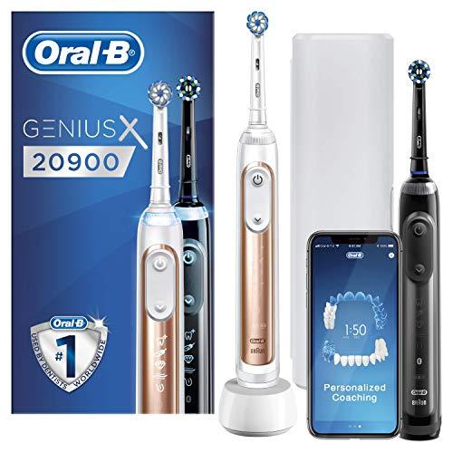 Pack de 2 Brosses à Dents Électrique Oral-B Genius X