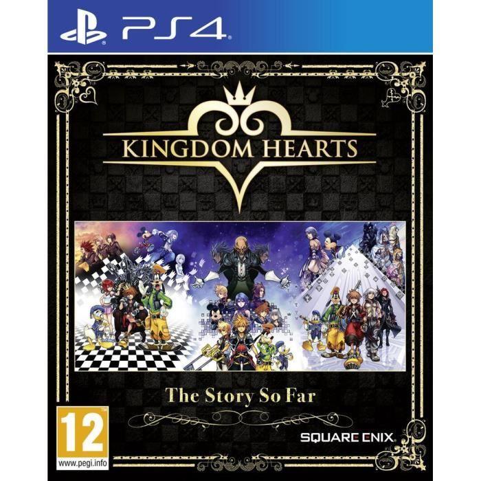 Jeu Kingdom Hearts The Story So Far sur PS4