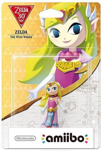 Figurine Nintendo Amiibo Zelda Wind Waker 30 ans