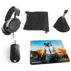 Casque Steelseries Arctis 3 (2019 Edition) + Rival 110 + Tapis + Bungee + Sac