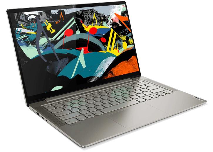 "PC Portable 14"" Lenovo Yoga S740 - Full HD, i5-1035G4, 8 Go RAM, 256 Go SSD, Windows 10"