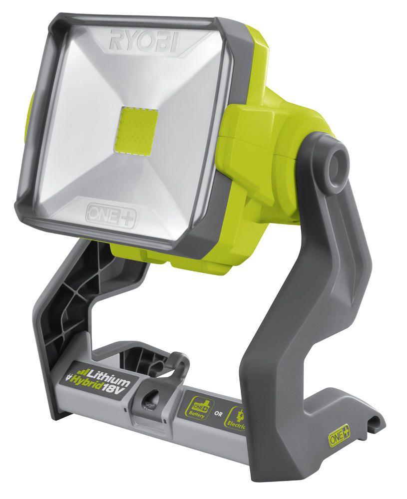Projecteur LED Ryobi - 2000 lumens, 18 V, ONE+ (sans batterie)