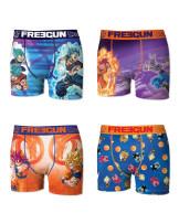 Jusqu'à 50% de réduction sur tout le site - Ex : Lot de 4 boxers Dragon Ball Super (Tailles au choix)