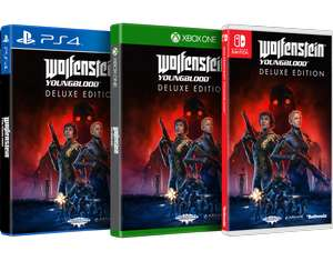 Wolfenstein : Youngblood Edition Deluxe sur PS4, Xbox One ou Switch