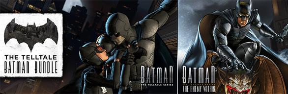Bundle The Telltale Batman sur PC (Dématérialisé)