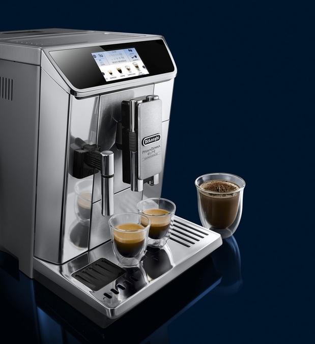 Machine à Café Automatique Delonghi PrimaDonna Elite Expérience ECAM 650.85MS + 30€ en bon d'achat (Via ODR 150€)