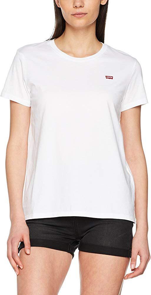 Sélection de vêtements en promotions - Ex : T-Shirt Levi's Perfect Tee pour Femme