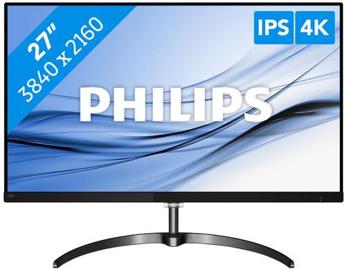 """Écran PC 27"""" Philips 276E8VJSB - 4K UHD, LED IPS, 5ms (Frontaliers Belgique)"""