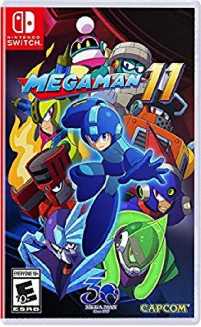 Jeu Megaman 11 sur Nintendo Switch (Frais d'importation compris)