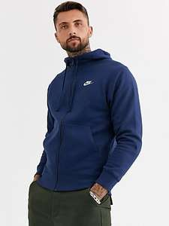 Sweat-shirt zippé Nike Futura - bleu marine (du XS au XXXL)