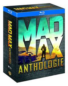 Coffret Blu Ray Mad Max Anthologie