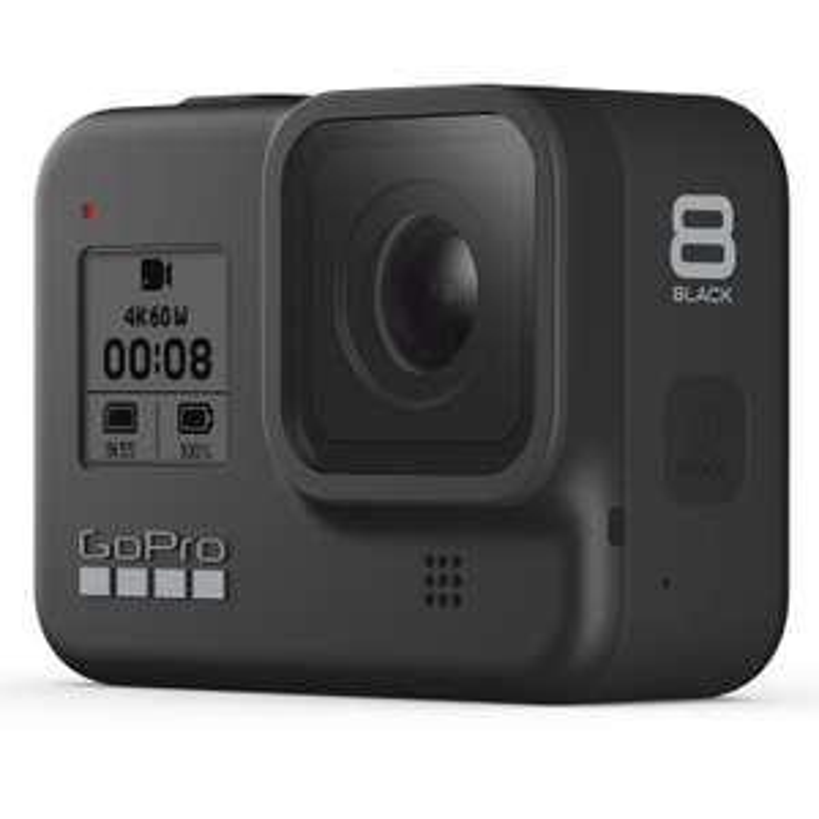 Caméra GoPro Hero 8 Black - 4K / 60 fps, 12 MP, HDR, WiFi/Bluetooth, GPS