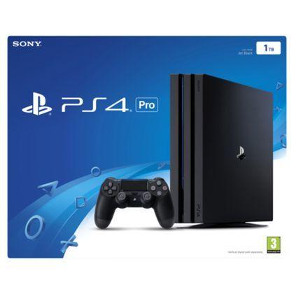 Console Sony PS4 Pro 1To - Noir + 40€ en bon d'achat (Frontaliers Belgique)