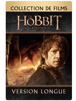 Film Le Hobbit - La Trilogie - Version Longue (Dématérialisé - iTunes)
