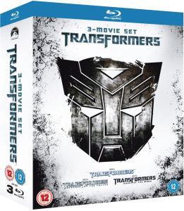 Sélection de Blu-ray en promotion - Ex: Coffret Blu-ray Trilogie Transformers 1-3