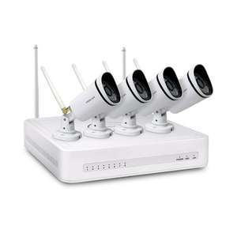 Kit de videosurveillance Wi-Fi Foscam FN3104W-B4 - 4 caméras
