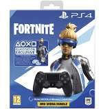 Manette Ps4 Dualshock 4 V2 + Fortnite Bundle