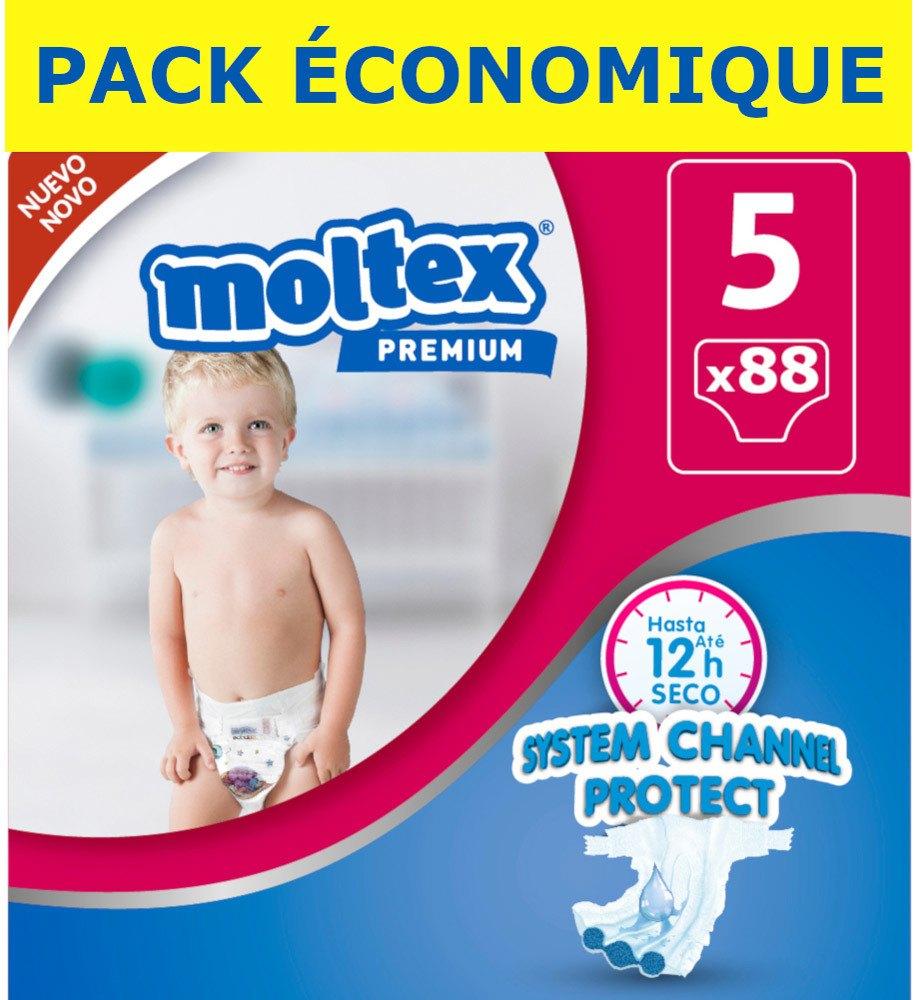 2 Paquets des Couches bébé Moltex pour le prix d'un