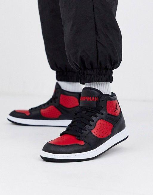 Chaussures Nike Jordan Access - noir / rouge (du 40 au 49.5)