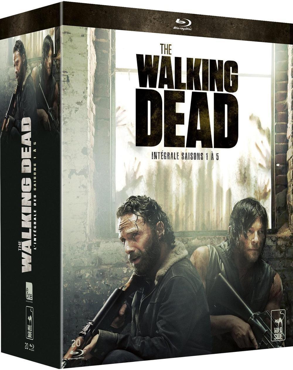 Coffret Blu-ray The Walking Dead – L'intégrale des saisons 1 à 5