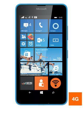 "Smartphone 5"" Microsoft Lumia 640 - 4G, 8 Go + 25€ d'applications  (via ODR 30€)"