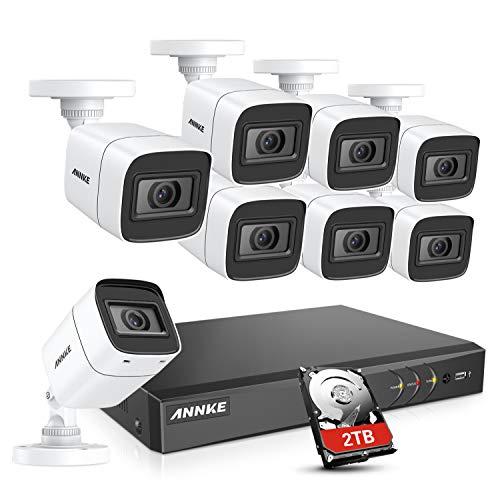 [Prime] Système de vidéosurveillance DVR Annke avec 8 caméras 8MP (vendeur tiers)