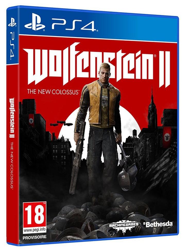 Wolfenstein 2 The New Colossus sur PS4